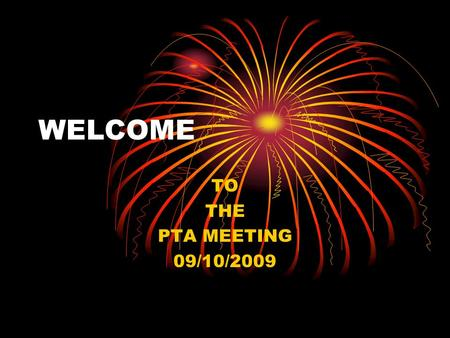 WELCOME TO THE PTA MEETING 09/10/2009 INTRODUCTION My name is Christine and I am: Homeroom to class 204. Math and Science teacher to class 203. Science.