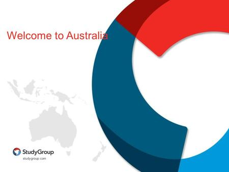 Studygroup.com Welcome to Australia. Start your journey to an exceptional education and life experience.