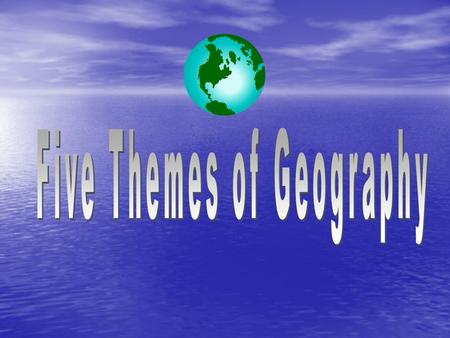 What do Geographers Do? What do Geographers Do? Geographers look at the patterns and connections between people and land to help them describe the earth.