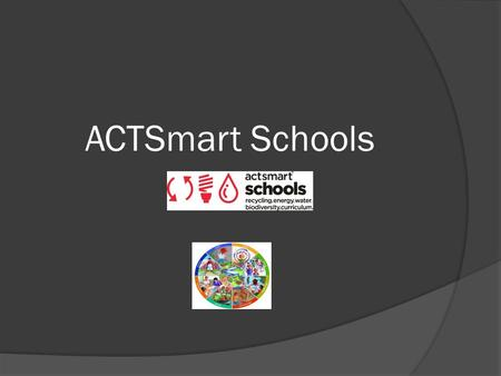 ACTSmart Schools. Parliament of Youth on Sustainability.