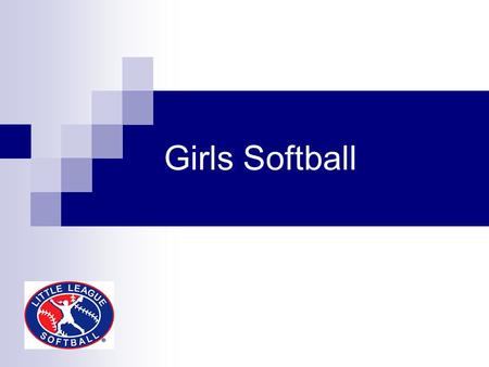 Girls Softball. Agenda About Demographic studies Current known programs locally Why Softball D5 run program Close/Questions.