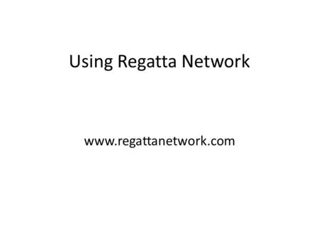 Using Regatta Network www.regattanetwork.com. The first screen is a list of all the events that CYC uses on Regatta Network. Click on Manage This Event.