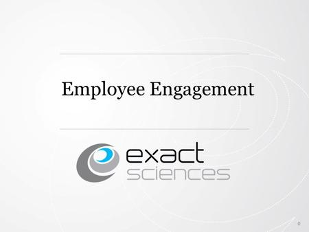 0 Employee Engagement. Why is employee engagement important? o Employee Engagement is a measurable degree of an employee's positive or negative emotional.