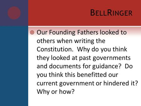 essay on founding fathers William w freehling presents his view of the founding fathers and slavery in the article 'the founding fathers and slavery' he contends that america's founding fathers were antislavery but gives viewpoints of other historians to the contrary.