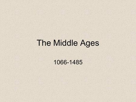 the middle ages from 1066 to Learn and revise about what life was like, how people lived, and what work people did in the middle ages with bbc bitesize ks3 history.