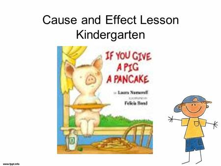 Cause and Effect Lesson Kindergarten. TEKS/Standards Interpret pictures to determine cause and effect Draw pictures and/or use letters and phonetically.