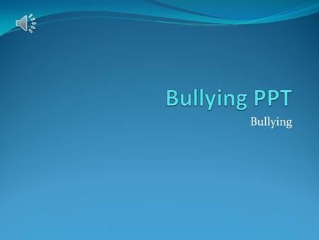 Bullying. Introduction Bullying is defined as any form of severe physical or psychological consequences. Bullying has been identified as a social issue.