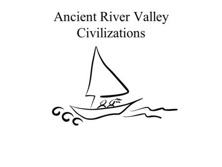 Ancient River Valley Civilizations. Pre-history Pre-historic = before written records Two periods of pre-history to know –Paleolithic –Neolithic.