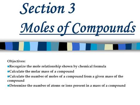 the si unit for molar mass is relationship