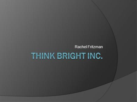Rachel Fritzman. Based in Cleveland with their office on Euclid Ave Technology based company that offers assistants with end-of-life decision Help individuals.