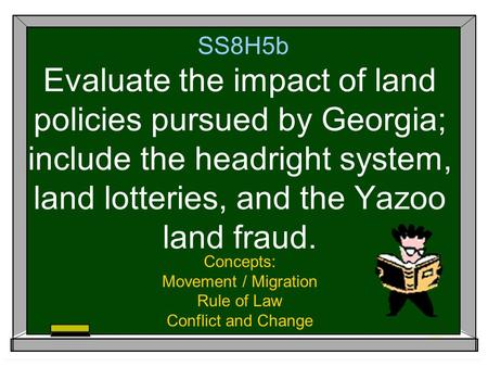 Concepts: Movement / Migration Rule of Law Conflict and Change