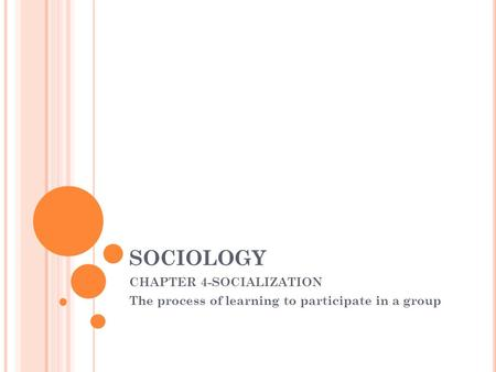 chapter 1 summary sociology A summary of chapter one of david harvey's (1989) condition of postmodernity.