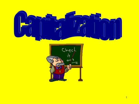 Capitalization DAY 1 COMPLETE SLIDES 1-8