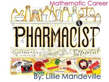  A community pharmacist is responsible for controlling, dispensing and distributing medicine. They work in legal and ethical guidelines to ensure the.