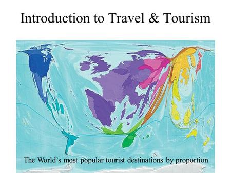 Introduction to Travel & Tourism