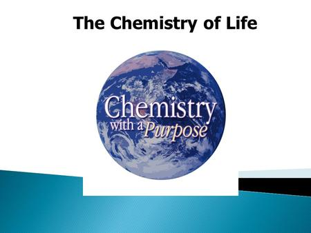 The Chemistry of Life.  All life is composed of chemicals  Chemistry - study of matter  Matter is anything that has mass and occupies space.