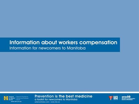 "The Workers Compensation Board (WCB) is Manitoba's ""no-fault"" insurance system for employers and workers. The WCB can pay money (compensation) to injured."