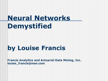 research feel on key truthful network ppt