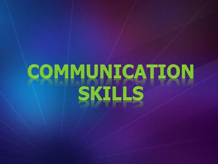 "WHAT IS COMMUNICATION? "" It is defined a transfer of Knowledge, Information, Perceptions and Understanding between Various Parts and Members of Organization""."