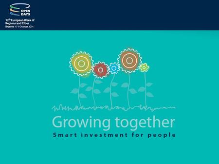 Seats available – Tuesday 7 October 2014 WorkshopTimeTitle 07A04 09:00 - 10:45 Impact of ICT innovation vouchers on SMEs going digital and regional growth.