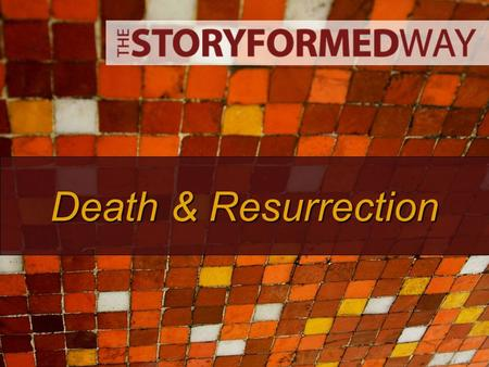 Death & Resurrection. Last Week… We looked at how Jesus lived his life. Everywhere he went crowds flocked to him and he performed many miracles, healing.