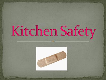 The keys to preventing kitchen accidents are careful kitchen management and safe work habits. Falls, electrical shock, cuts, burns, and poisonings are.