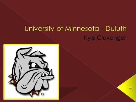  Public School  City located: Duluth, MN › Population: about 87,000  Campus Population: 3,200  Retention Rate: 81%  Graduation rate: 47%  Faculty/Student.