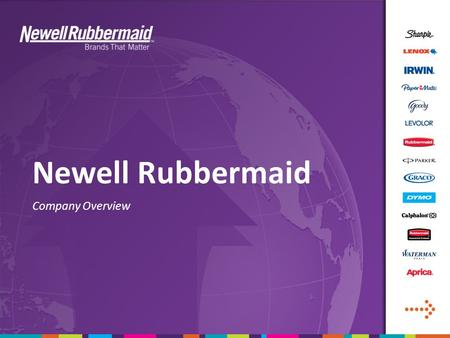 newell rubbermaid case study strategy In this case study about rubbermaid's success story with our solutions, we show   microban® and newell brands have been in partnership for more than a  decade  in development of the customized antimicrobial solution for coolers,  the.