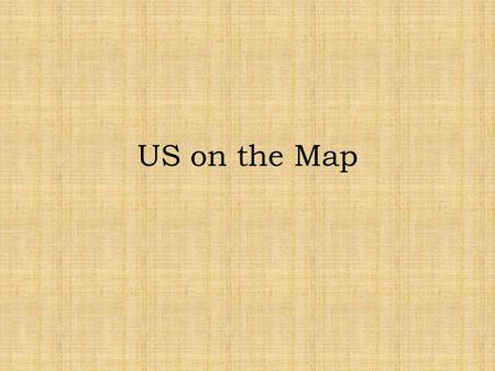 "US on the Map. European Map At the top, write ""Changes in Immigration to the US"""
