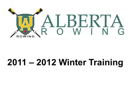 2011 – 2012 Winter Training. Today's Topics Dry-Land Training Goals Fall/Winter Training Schedules Christmas Camp.