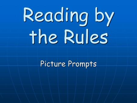 Reading by the Rules Picture Prompts. Group 1 Sounds Cognate Pairs b/p b/p d/t d/t v/f v/f g/k g/k z/s z/s j/ch j/ch th/th th/th.