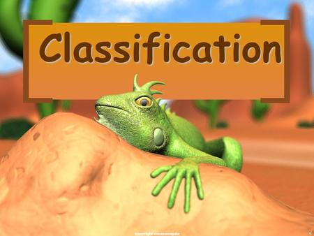 1 Classification copyright cmassengale. 2 There are 13 billion known species of organisms There are 13 billion known species of organisms This is only.