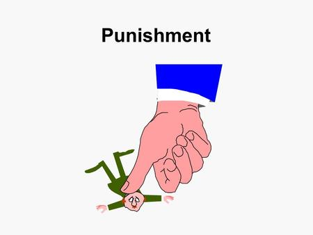 Punishment. Undesirable Side Effects Escape and Avoidance Emotional Reaction Aggression Response Substitution Response Facilitation Generalized Suppression.