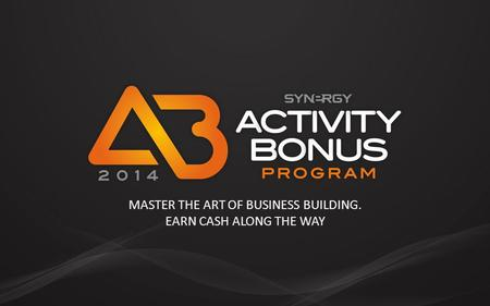 MASTER THE ART OF BUSINESS BUILDING. EARN CASH ALONG THE WAY.