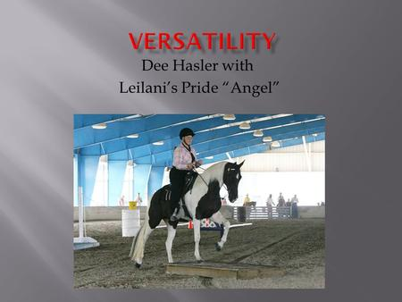 "Dee Hasler with Leilani's Pride ""Angel"". The Basics of a lifetime challenge The Foundations of Versatility begin with the beginning of the breed. Article."