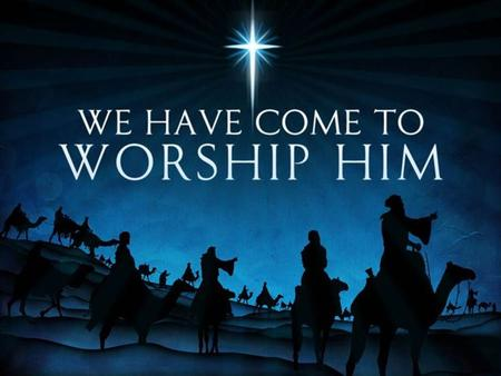 Sunday, December 13 th 11:00 AM We pray you will be blessed by the music and message of the birth of Jesus, our Savior.
