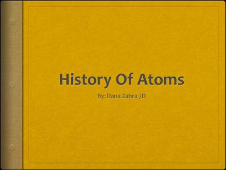 Atoms  Atoms are the building block of all matter and are the simplest form of molecule. They are all made up of protons, neutrons and electrons. They.