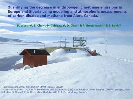 Quantifying the decrease in anthropogenic methane emissions in Europe and Siberia using modeling and atmospheric measurements of carbon dioxide and methane.