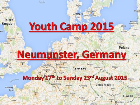 Gravesend & Neumunster Members of Gravesham Youth Council took part in a week long European Youth Camp in Germany as part of Neumunster's 888 yr celebrations.