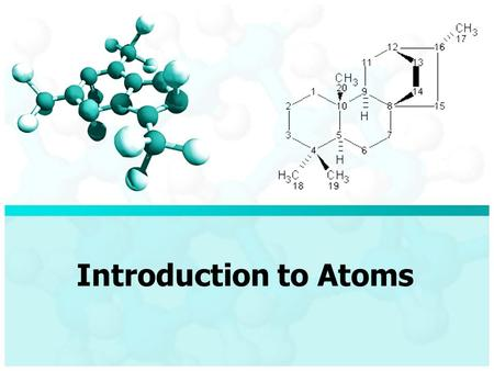 Introduction to Atoms. Vocabulary Atom- Sub-atomic Particles- Nucleus- Atomic Models-
