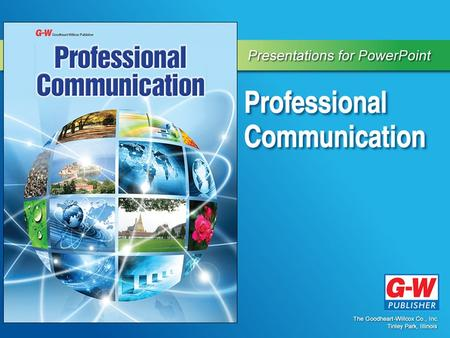 1 Professional Communication Section 1.1 Introduction to Professional Communication.