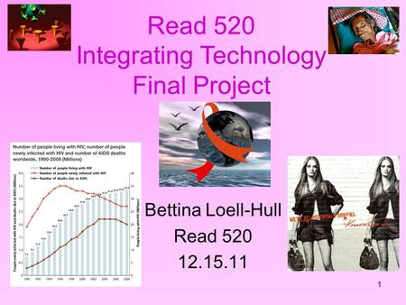 1 Bettina Loell-Hull Read 520 12.15.11 Read 520 Integrating Technology Final Project.