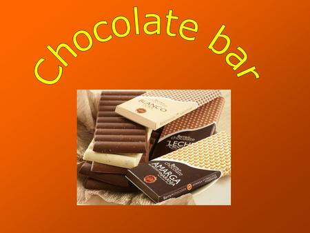 Introduction It doesn't apear information of who create the chocolate bar but the first chocolate bar was sold in 1910 by the Ganong Brothers company.