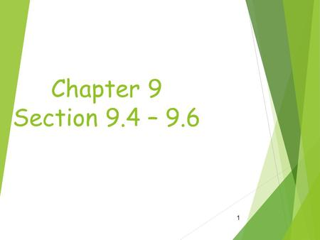 Chapter 9 Section 9.4 – 9.6 1. Cloning  Clone  Clone- a member of a group of genetically identical cells 2.