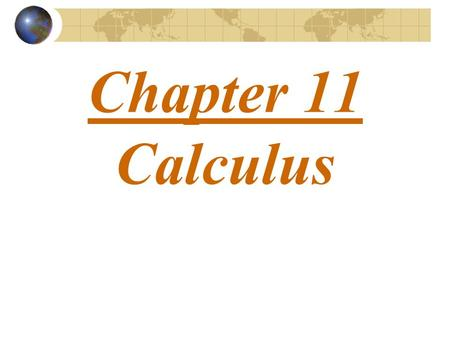 Chapter 11 Calculus. Symbolic Expressions Required: > Symbolic Math Toolbox > Use Symbolic Variables.