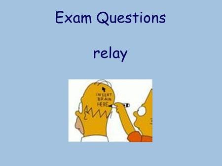 Exam Questions relay. Simpson's Rule Objectives: To recognise and apply Simpson's rule to approximate areas bounded by curves.