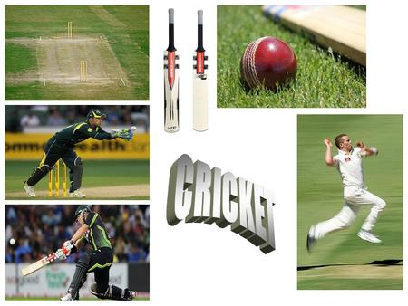 I am interested in cricket because it is fun and it involves strategy to try and win.
