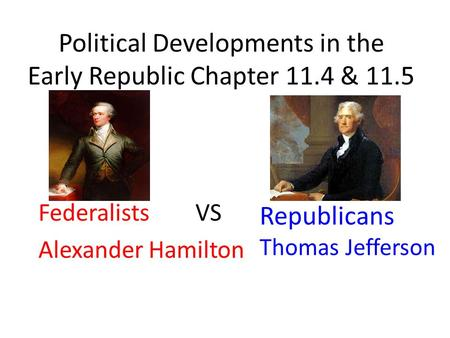 compare and contrast hamilton and jefferson essay Similarities and differences of thomas jefferson and george washington in this essay i will compare and contrast two americans from the history era of 1607 1876.