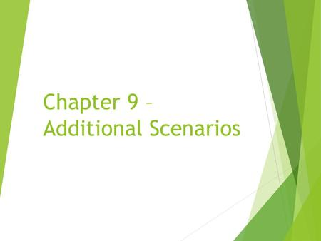 Chapter 9 – Additional Scenarios. Marbles Collision Detection The Marbles scenario does not use any of the built-in Greenfoot collision detection.