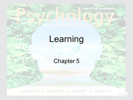 Psychology: An Introduction Charles A. Morris & Albert A. Maisto © 2005 Prentice Hall Learning Chapter 5.
